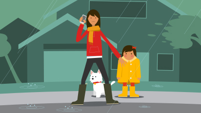 PG&E Animated Safety Campaign: Video, OOH, Print,Online