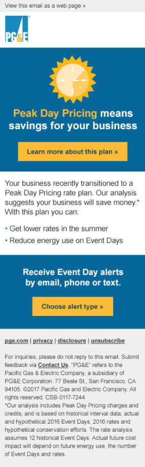 PGE PDP Mobile Email