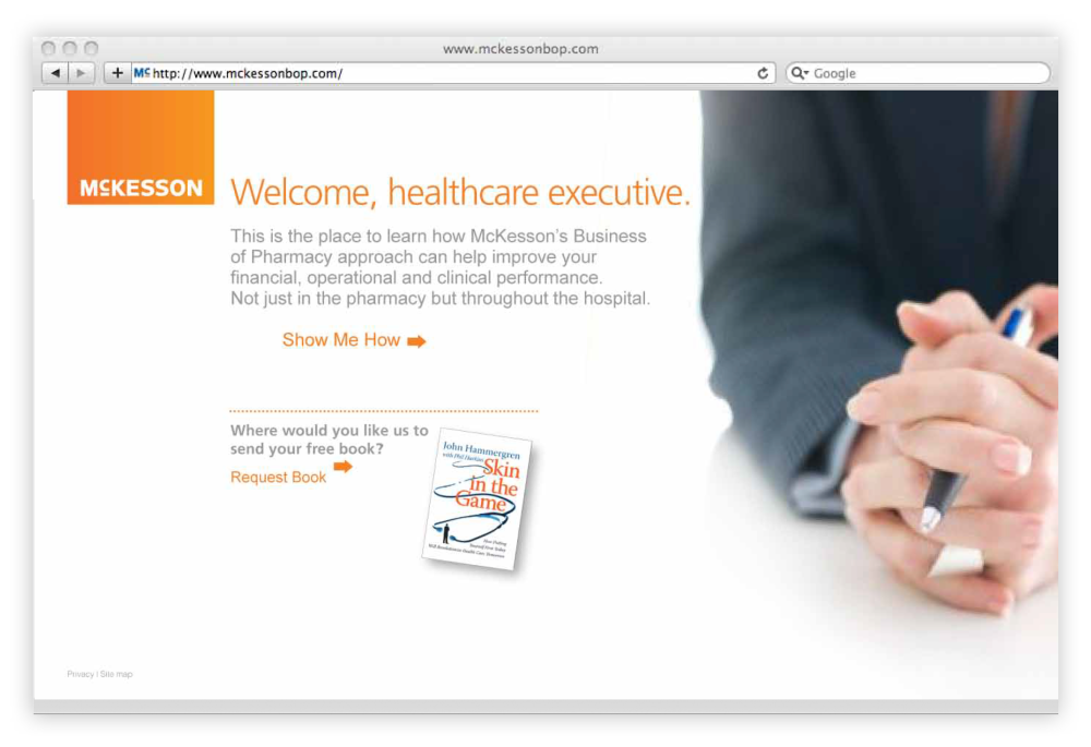 McKesson Business of Pharmacy Site - Offer Page.png
