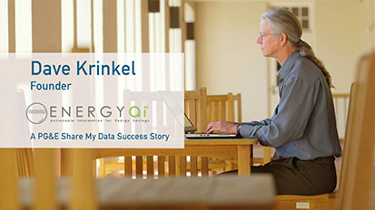 PG&E Share My Data: SuccessStories